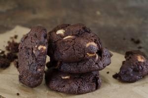 עוגיות פאדג' שוקולד